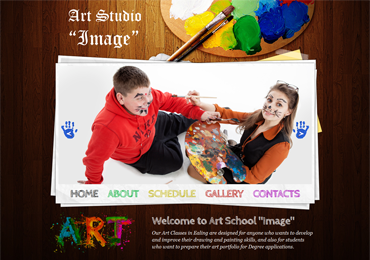 "Website for art studio ""Image"""