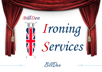 Website redesign for BillDen (ironing services)