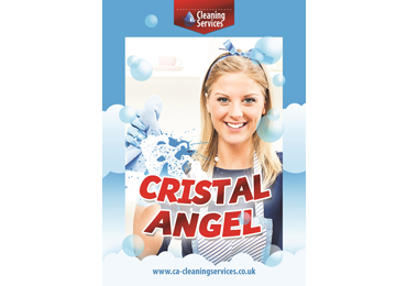 Лифлет для компании Crystal Angel